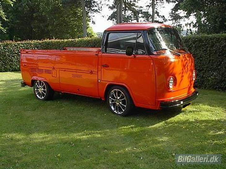 vw pickup powered by porsche 1973 0 100 kmt 6 sek topfart har. Black Bedroom Furniture Sets. Home Design Ideas