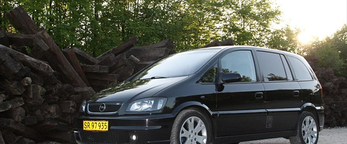 Opel Zafira Opc - 2003 - Byttet mig til denne dejlige ...