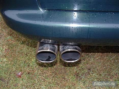 Opel Vectra B Wagon **Solgt** - One Two Pipe, så længe det vare, er ved at arbejde i at der skal afgangsrør på i begge sider, hvis det kan lade sig gøre !!! billede 3