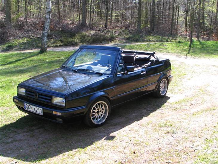 vw golf 2 cabriolet solgt 1985 bilen er en af kun 21 golf ii. Black Bedroom Furniture Sets. Home Design Ideas