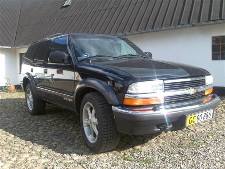 Chevrolet S10 Blazer 43 Lt Solgt 1999 Den Er Strkt