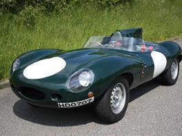 Jaguar D-Type 'Le mans'