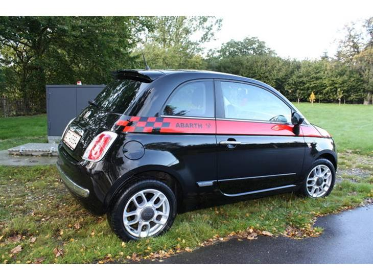 fiat 500 sport 2008 first fiat 500 to be ordered. Black Bedroom Furniture Sets. Home Design Ideas
