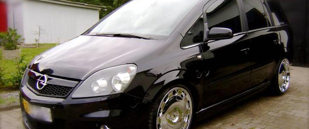 Opel Zafira B OPC - 2007 - den fedeste varevogn der find...