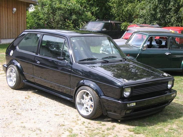 vw golf gti 16v 1981 min sommer bil kommer kun ud. Black Bedroom Furniture Sets. Home Design Ideas