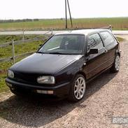 VW Golf Totalskadet