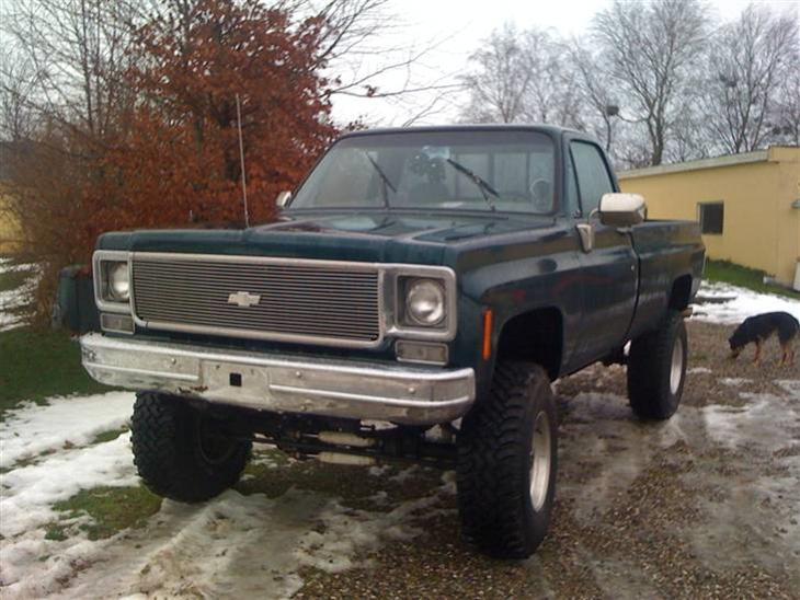 Chevrolet Blazer Solgt 1973 Bilen Er Nyindkbt Og Kommer