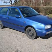 VW golf solgt