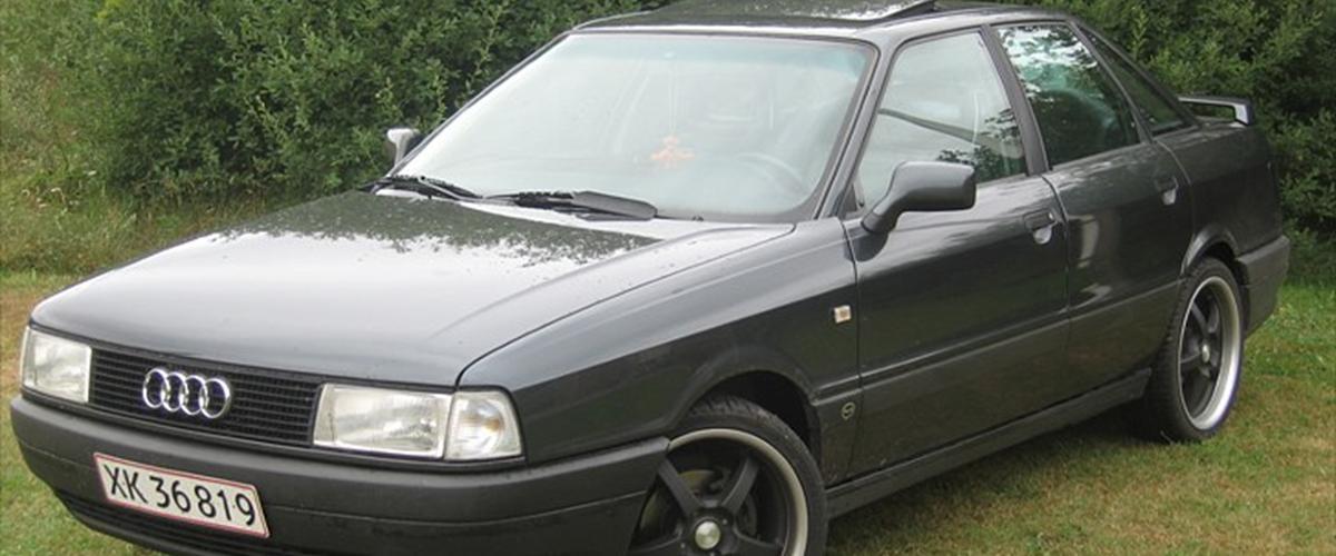 Audi 80 - 1989 - Dejlig gammel bil, som ikke r...