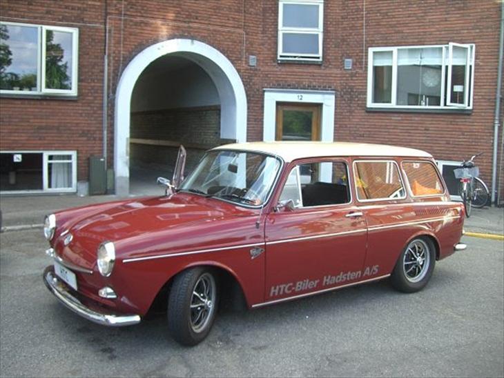 VW 1600 Variant (type 3) - 1968 - Sjov gammel bil der får noget...