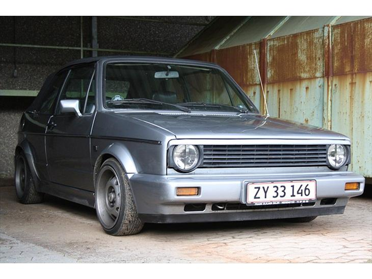 vw golf 1 cabriolet til salg 1988 alt for l kker en rigtig lil. Black Bedroom Furniture Sets. Home Design Ideas