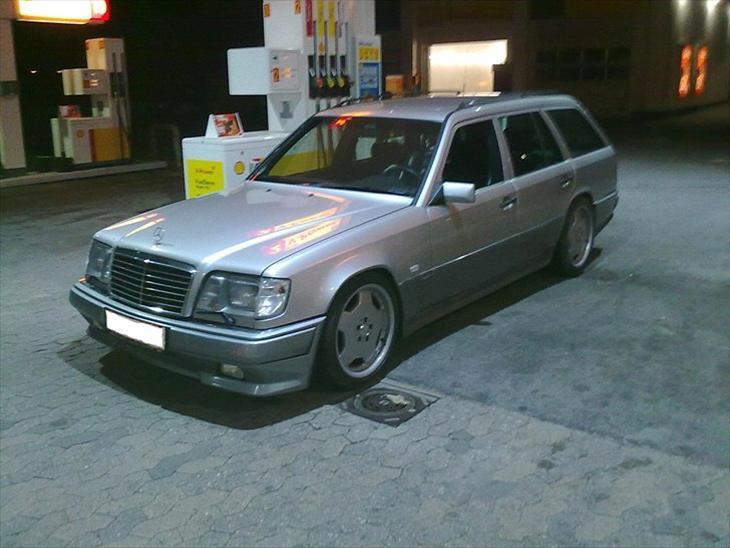 Mercedes benz s124 300te e36 amg 1991 alle dokumenter og papirere h