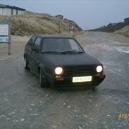 VW Golf mk2 td solgt