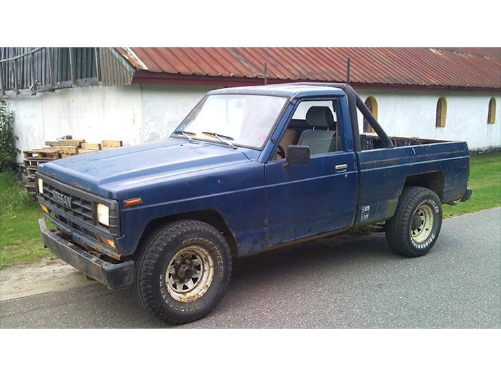 Nissan Patrol Pick up (Projekt) - 1982 - Bilen er købt den 27/9 10 P...