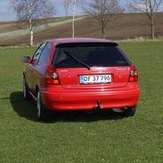Toyota Corolla G6R totalskadet