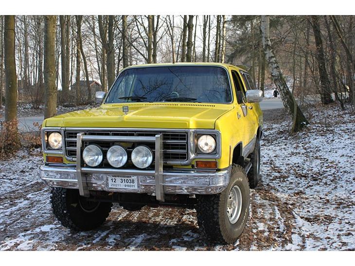 Chevrolet Blazer K5 Solgt 1977 Denne Fine Blazer K5 Fra
