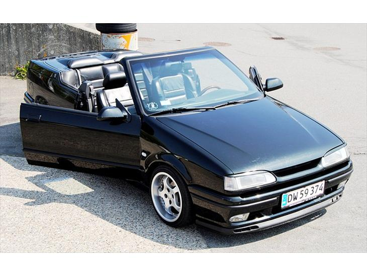 renault 19 cabriolet 1 8 1994 den fineste renault 19 cabr. Black Bedroom Furniture Sets. Home Design Ideas