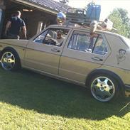 VW golf 1 tysk retro