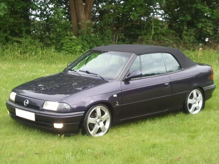 Opel astra f cabriolet bertone 1995 tak til http - Opel astra coupe bertone fiche technique ...