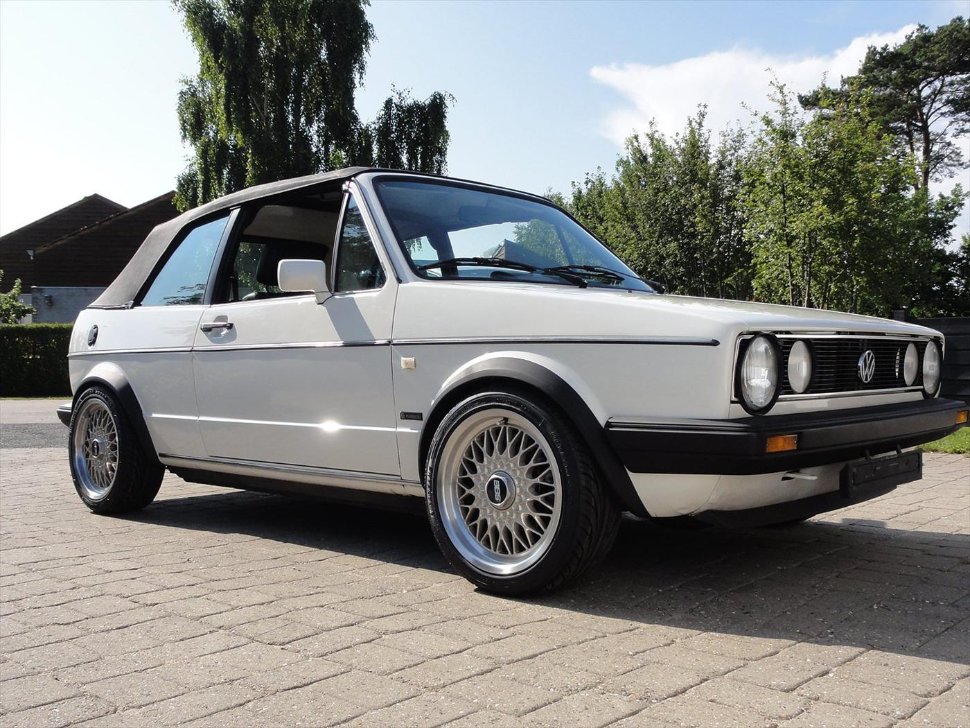 vw golf 1 cabriolet karmann 1986 billeder af biler. Black Bedroom Furniture Sets. Home Design Ideas