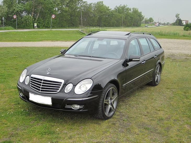 Mercedes benz e320 w211 2007 tysk import dortmund for Mercedes benz text