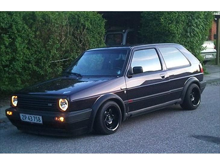 vw golf 2 gti 16v edition one 1989 tysk import rigtig god sta. Black Bedroom Furniture Sets. Home Design Ideas