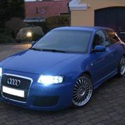 """Audi A3 """"Smølf"""""""