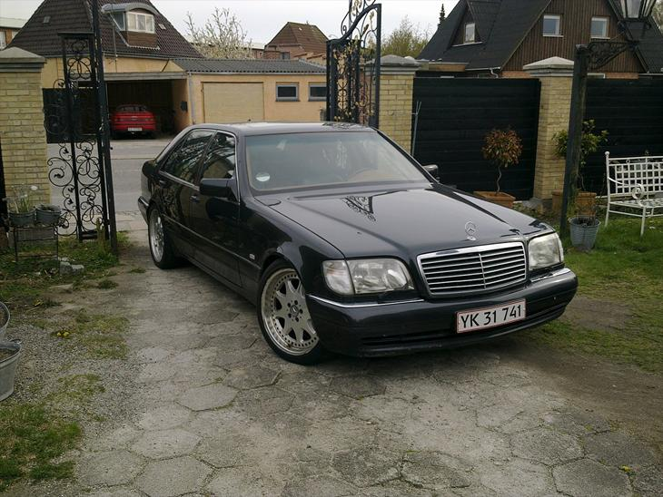 Mercedes benz s 73s brabus 1992 bilen er der ca lavet for Mercedes benz text