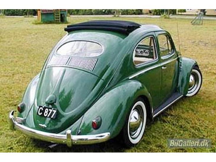 VW Type 1 117 - 1954 - Den har originale hjertebagly...