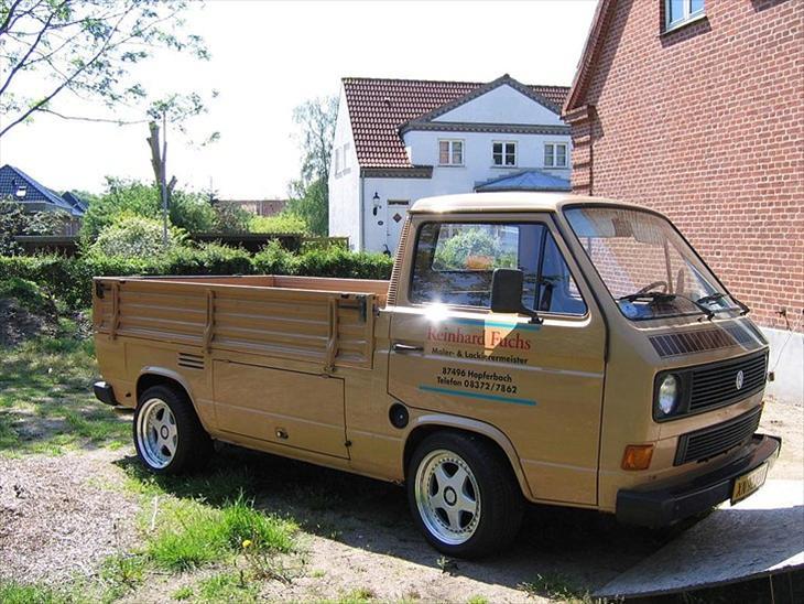 vw transporter t3 pickup 1983 bilen har jeg k bt i tyskland. Black Bedroom Furniture Sets. Home Design Ideas