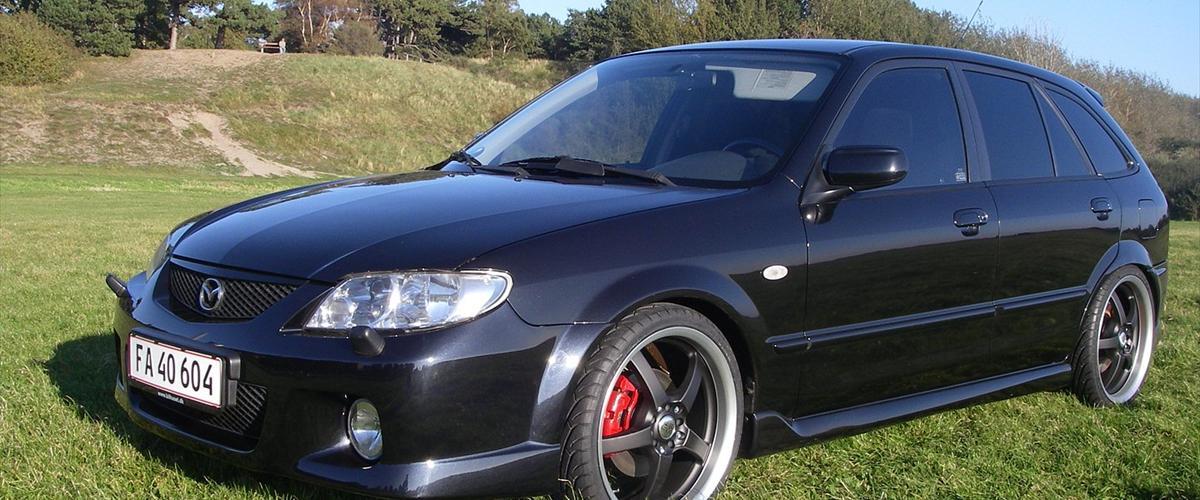 Mazda 323F Sportive. 5 dørs hatchback SOLGT - 2001 - Superfed bil med masser af ek...