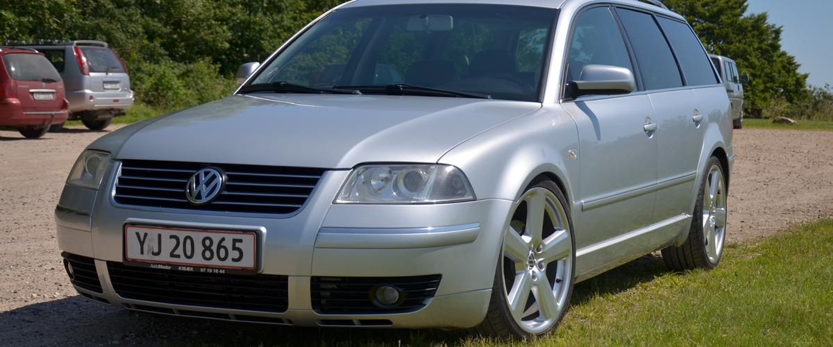 vw passat 1 9 tdi 130 highline 6 gear 2001 bilen er importeret fra tyskl. Black Bedroom Furniture Sets. Home Design Ideas