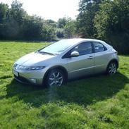 Honda Civic 2,2 CDTI FK solgt
