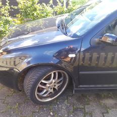 VW Bora - brændt