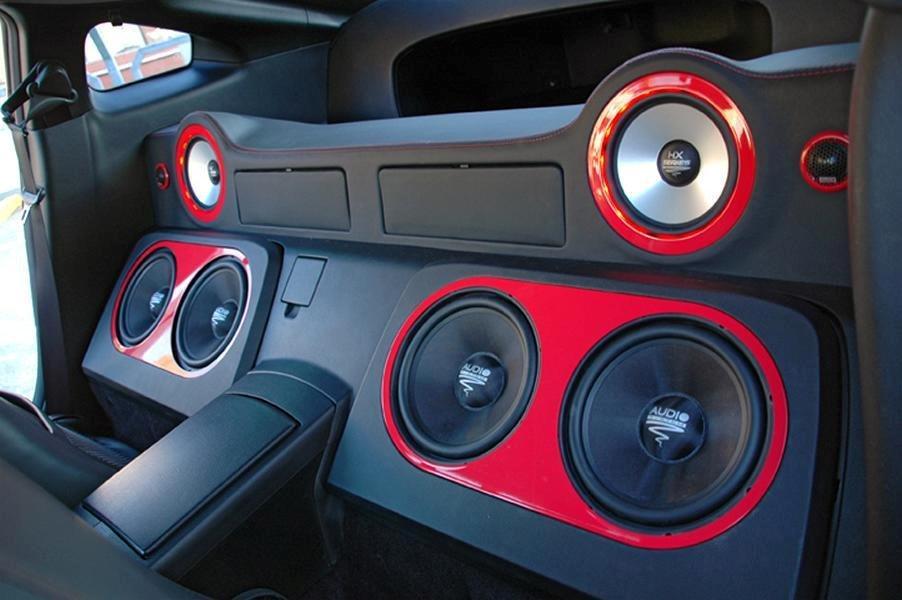 Nissan 350Z - Black Thunder - August 2012: Interiør- og ICE-upgrade. billede 19