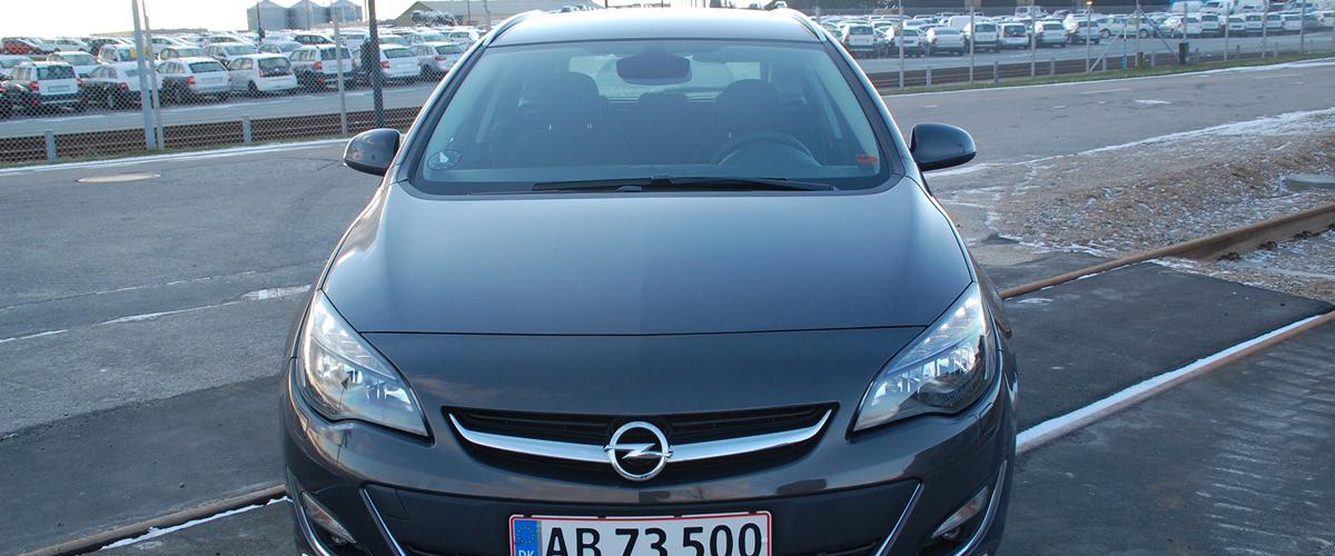 Opel Astra Sports Tourer - 2012 - En bil der er blevet indkøbt ...
