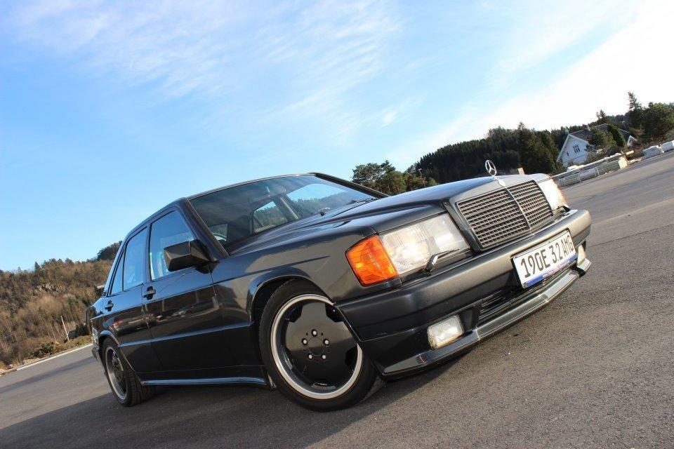 Mercedes Benz 190e 3 2 Amg 1991 Original Bil Fra Amg I Affalt