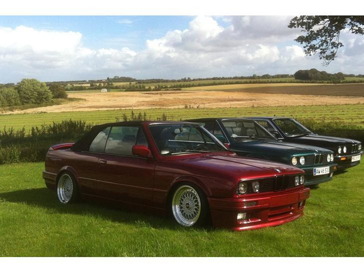 Bmw E30 325i Cabriolet M Tech 2 1992 Bilen K 248 Rer