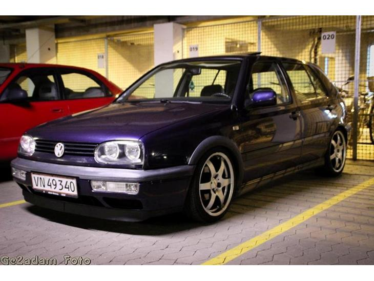 vw golf 3 gt tdi special solgt 1996 bilen er import kom til dk i. Black Bedroom Furniture Sets. Home Design Ideas