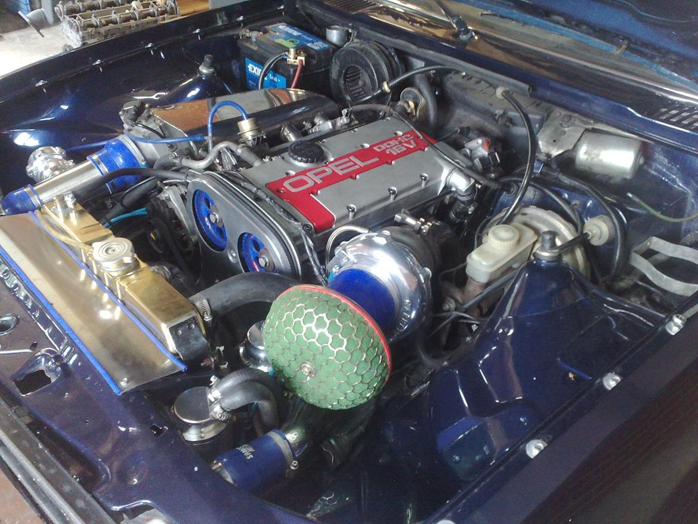 Opel ascona b c20let turbo billede 19