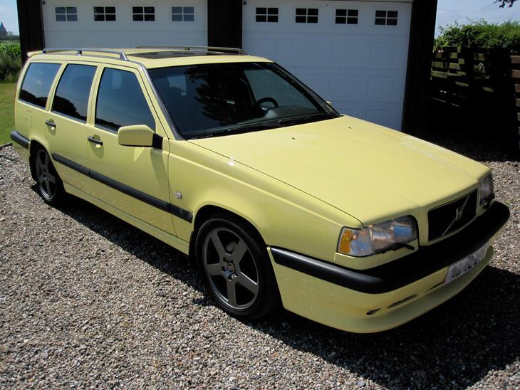 volvo 850 2 3 t5r 1995 bilen er blevet holdt origina. Black Bedroom Furniture Sets. Home Design Ideas