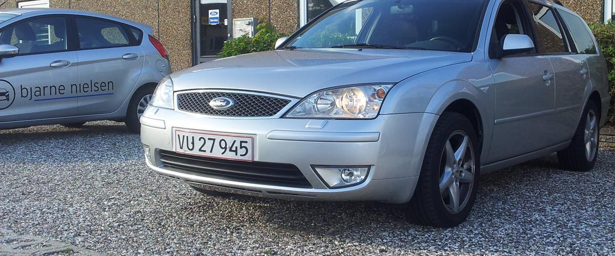 Ford Mondeo - 2003 - Vi har lige købt bilen i dag ...