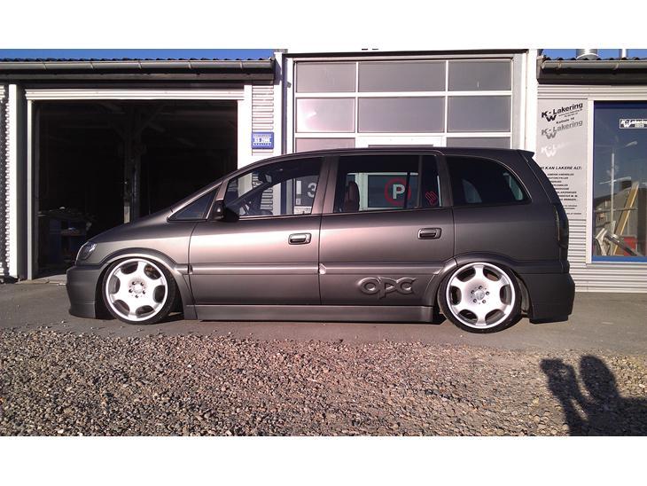 Opel Zafira A OPC Part 2 `solgt - 2004 - Respekt: min bror Bo som er k...