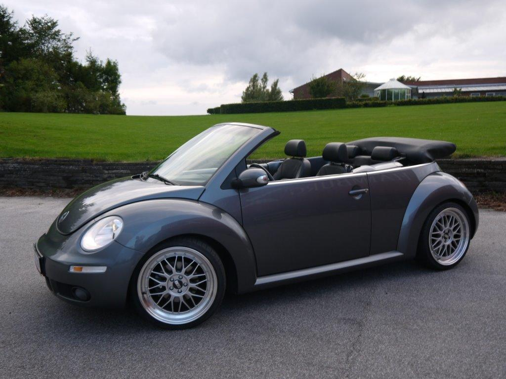 vw new beetle cabriolet bobbel bilen highline billeder af biler uploaded af flemming s. Black Bedroom Furniture Sets. Home Design Ideas