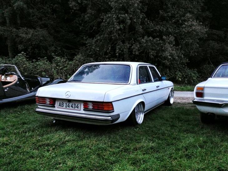 Mercedes benz w123 1983 der er blevet lavet flg p b for Mercedes benz wexford pa