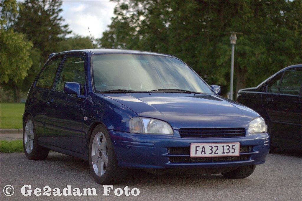 Toyota Starlet Turbo 16v Solgt 1996 Utrolig Fed Og Sjov Bil