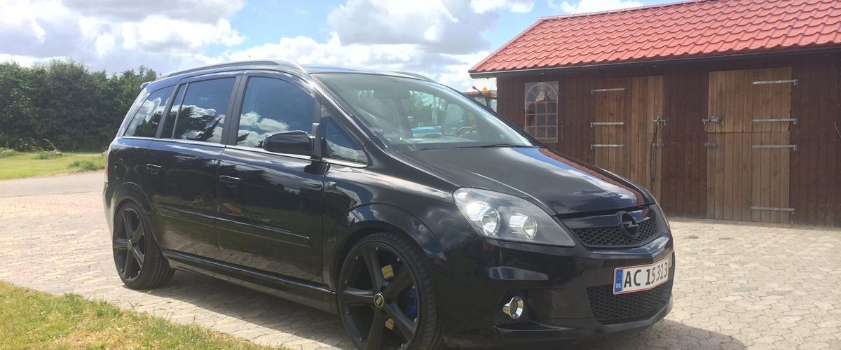 Opel Zafira B OPC 7 Personers - 2006
