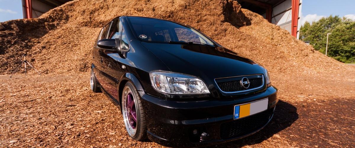 Opel Zafira A OPC+++ - 2003 - Det hele startede som en defe...