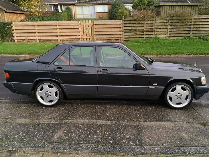 Mercedes benz 190 e 1989 nyvognspris i 89 kr for Mercedes benz text