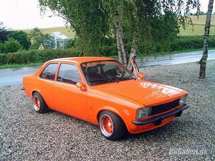 Opel kadett c 1979. SOLGT - - Rigtig sjov og hurtig bil!!